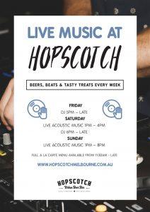 Live Music at Hopscotch
